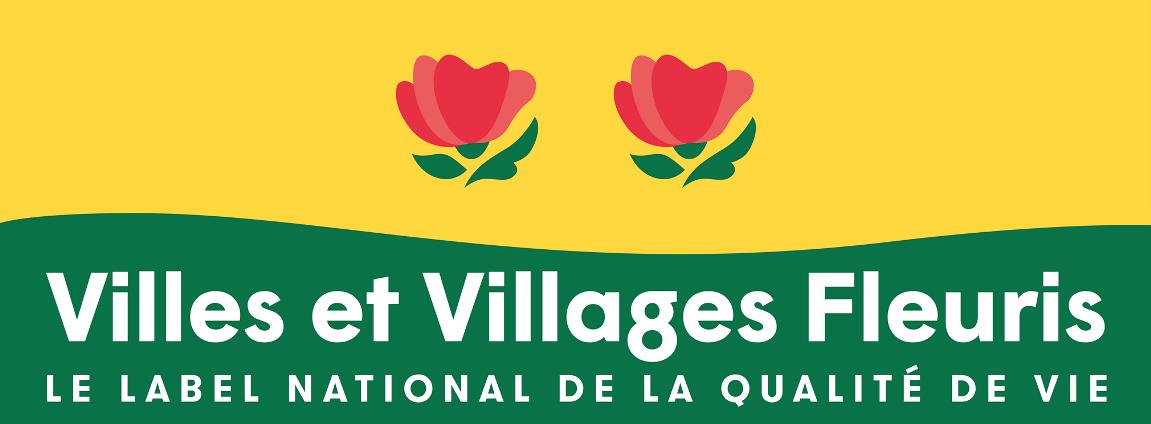 Panneau villes et villages fleuris le label national de la qualité de vie